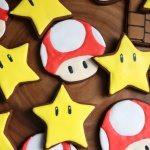 Mario Themed Sugar Cookies