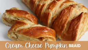 Cream Cheese Pumpkin Braid