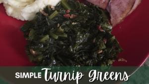 Simple Turnip Greens