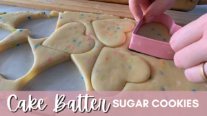 Cake Batter Sugar Cookies