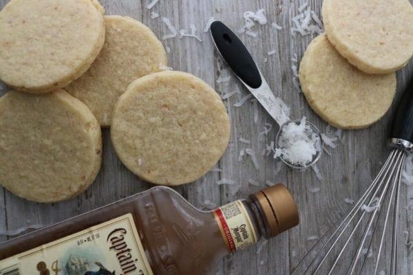 pina colada sugar cookie recipe