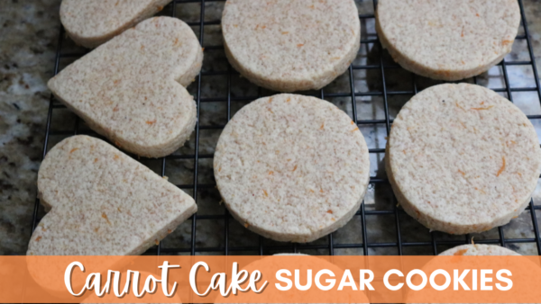 Carrot Cake Sugar Cookies