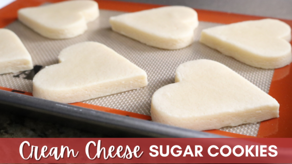 Perfect Cream Cheese Sugar Cookies