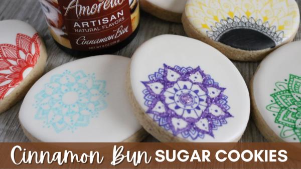 Cinnamon Bun Sugar Cookies