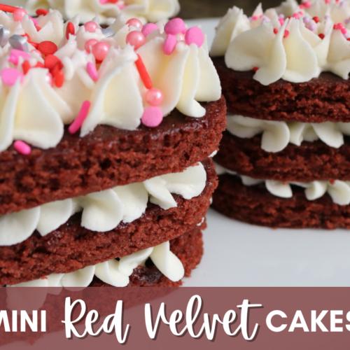 Mini Red Velvet Cakes