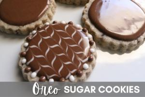Oreo Sugar Cookies