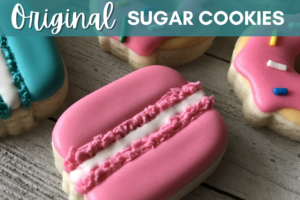 Original No Chill No Spread Sugar Cookies