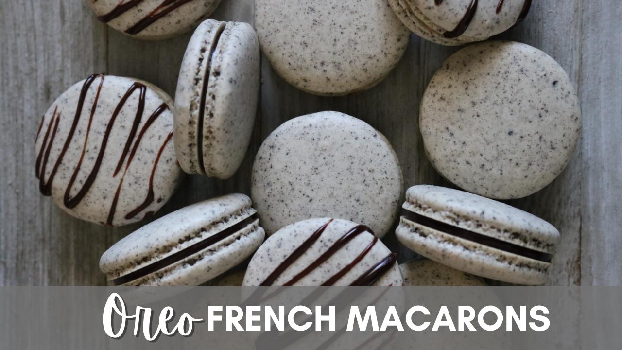 Oreo French Macarons