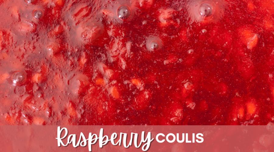 Raspberry Coulis