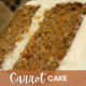 The Most Amazing Carrot Cake!