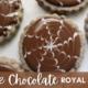 Dark Chocolate Royal Icing