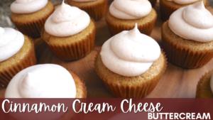 Cinnamon Cream Cheese Buttercream
