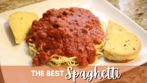 The Best Delicious Spaghetti